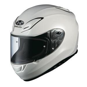 フルフェイス ヘルメット AEROBLADE-3 パールホワイト M 【バイク用品】