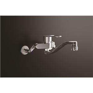 LIXIL(リクシル) キッチンシャワー付シングルレバー混合水栓(回せるもんタイプ) RSF-863YBZ