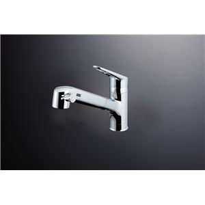 LIXIL(リクシル) 浄水器内臓シングルレバー混合水栓 シャワー付き RJF-771Y