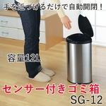 ヒロショウ センサー付き ゴミ箱 12L SG-12