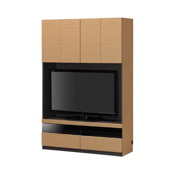 壁面テレビボード TVボード 幅120cm【PORTALE】ポルターレ ナチュラル