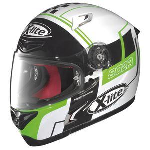【DAYTONA/デイトナ】フルフェイス ヘルメット X-LITE X802R ラッシュ WH L