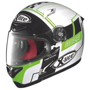 【DAYTONA/デイトナ】フルフェイス ヘルメット X-LITE X802R ラッシュ WH XL