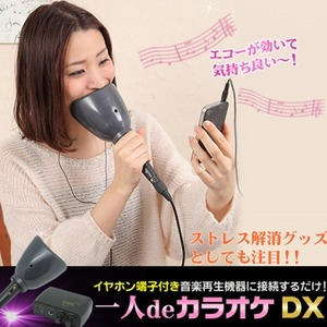 1人DEカラオケDX(家庭用カラオケセット)