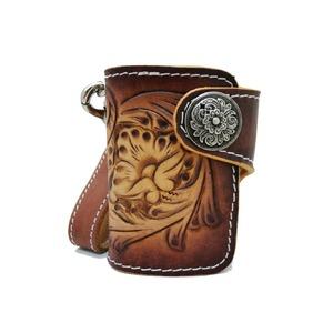 【本革レザー】高級ダーツケース 財布機能付き(ブラウン)