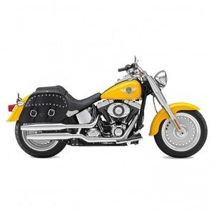【高級品質】ハーレーソフテイル ファットボーイ スタッズサドルバック WVLX51S(ラージサイズ) Harley Softail Fatboy