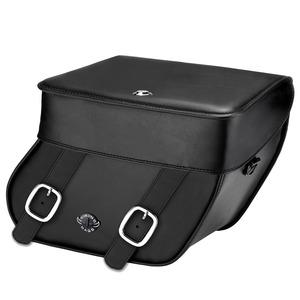 【高級品質】ハーレーソフテイル ファットボーイ サドルバック WVL107P(ミディアムサイズ) Harley Softail Fatboy