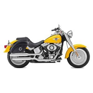 【高級品質】 ハーレーソフテイル ファットボーイ サドルバック WVQ99P(スモールサイズ) Harley Softail Fatboy