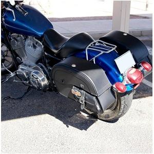 【高級品質】ハーレーソフテイル ファットボーイ サドルバック WVLX600P(ラージサイズ)Harley Softail Fatboy