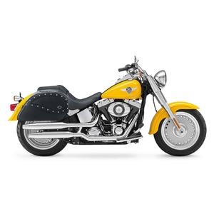 【高級品質】WVLX20S (ラージサイズ)ハーレーソフテイル ファットボーイ スタッズサドルバック Harley Softail Fatboy