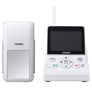 TWINBIRD ワイヤレス・ドアスコープモニター DoNaTa(ドナタ) ホワイト