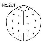 【2個入】フラワーバスケット用取替えウレタン 【No.112丸型用】 日本製 〔園芸 ガーデニング用品〕