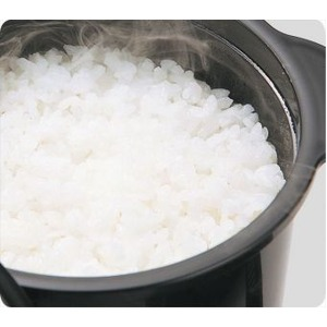 電子レンジ専用炊飯器 備長炭入りでふっくら 簡単・時短 ちびくろちゃん 2合炊き