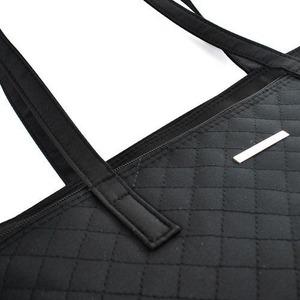 エレガントなキルティング・トートバッグ!レディースフォーマル ブラック 8027