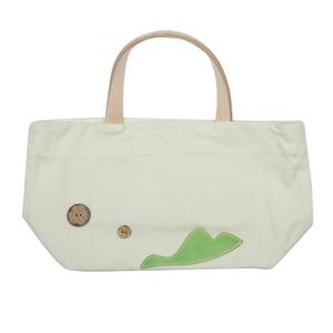 ふんわりかわいいキャンバスミニトートバッグ♪手提げかばん ランチバッグ T-00103886