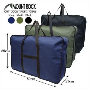 MOUNTROCK大容量ボストンバッグ!旅行キャンプ男女兼用33038ブラック