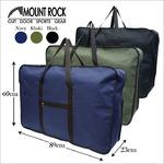 MOUNT ROCK 大容量ボストンバッグ!旅行 キャンプ 男女兼用 33038 ネイビー