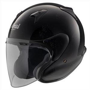 アライ(ARAI) ジェットヘルメット MZ-F グラスブラックL 59-60cm - 拡大画像