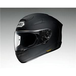ショウエイ(SHOEI) フルフェイスヘルメット X-12 マットブラック L - 拡大画像