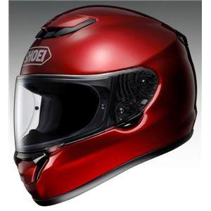 ショウエイ(SHOEI) フルフェイスヘルメット QWEST ワインレッド L 59-69cm
