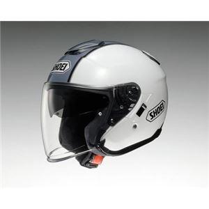 ショウエイ(SHOEI) ヘルメット J-CRUISE CORSO TC-6 ホワイト/シルバー L