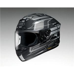 ショウエイ(SHOEI) フルフェイスヘルメット X-12 TRAJECTORY TC-5 グレー/ブラック L - 拡大画像