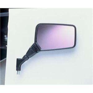 タナックス(TANAX) NAPOLEON クロス2ミラー (オプティクス) ブラック 10mm 正ネジ 左側用