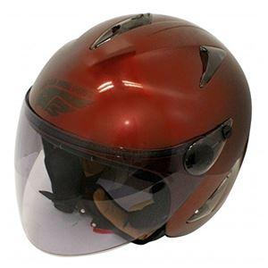ダムトラックス(DAMMTRAX) バードヘルメット MAROON ladys