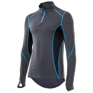 山城謹製 YKI-101 インナーシャツ 長袖ZIP CH(チャコール) Lサイズ