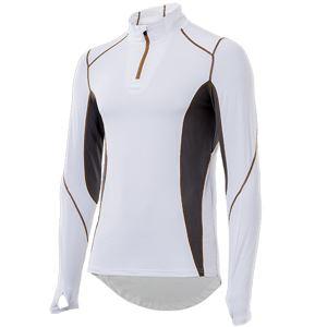 山城謹製 YKI-101 インナーシャツ 長袖ZIP WH(ホワイト) Mサイズ