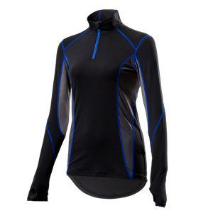 山城謹製 YKI-101Wインナーシャツ 長袖ZIP BK(ブラック) WMサイズ