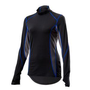 山城謹製 YKI-102Wインナーシャツ 長袖LOW BK(ブラック) WMサイズ