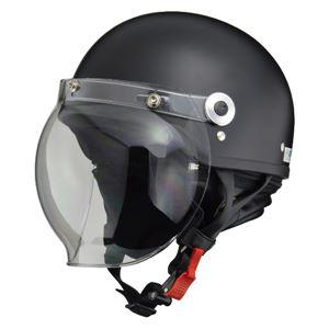 リード工業 (LEAD) バブルシールド付ハーフヘルメット CR760 H.MT/BK フリー
