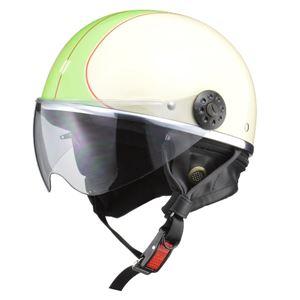 リード工業 (LEAD) ハーフシールド付ハーフヘルメット O-ONE IV/GR フリー