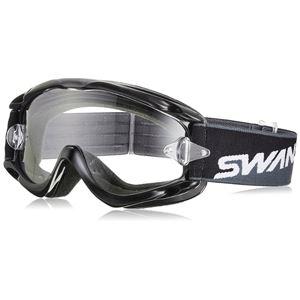 山本光学 (SWANS) ゴーグル MX-CHAMBO ブラック ティアオフ付き
