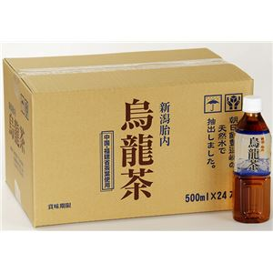 【まとめ買い】新潟胎内高原の烏龍茶500ml×240本ペットボトル