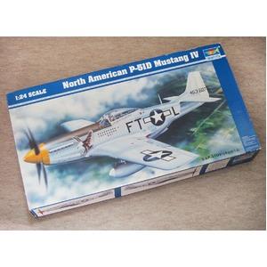 1/24 ノースアメリカン P-51D マスタングIV  【絶版・希少商品】