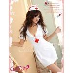 【ナース】コスプレ衣装/ハロウィン/制服/ナース服/看護婦/白衣/ミニスカ/z471
