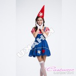 【ハロウィン】ピエロ コスチューム 服 コスプレ ハロウィン衣装/4401
