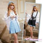 【ハロウィン】メイド服 みこ 神社 巫女 コスプレ ハロウィン衣装/4073
