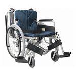 カワムラサイクル アルミ自走用車いす 簡易モジュール KA822-38・40・42B-M 中床タイプ/ 座幅40cm A9【非課税】
