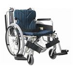 カワムラサイクル アルミ自走用車いす 簡易モジュール KA822-38・40・42B-H 高床タイプ/ 座幅40cm A9【非課税】