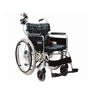 カワムラサイクル自走・介助兼用忘れ騎士2(自動ブレーキシステム付車いす)BM22-38・40・42SB-M/WDS2/座幅42cmNo.71【非課税】