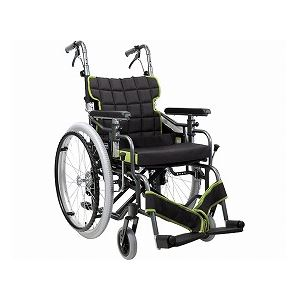 カワムラサイクル自走用モジュール車いすKM22-40・42SB-M中床タイプ/座幅40cmNo.88×A10【非課税】
