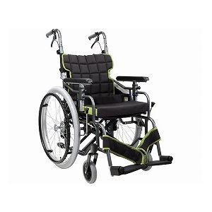 カワムラサイクル 自走用モジュール車いす KM22-40・42SB-M 中床タイプ /座幅42cm No.19×No.85