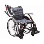 カワムラサイクル 自走用 WAVIT+(ウェイビットプラス) WAP22-40・42A エアータイヤ仕様/ 座幅40cm A13【非課税】