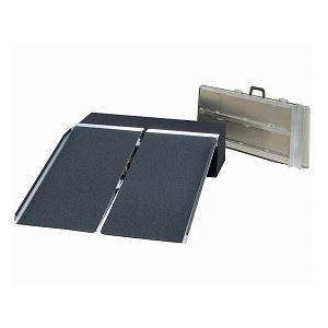 イーストアイポータブルスロープアルミ2折式タイプ(PVSシリーズ)/PVS240長さ244cm