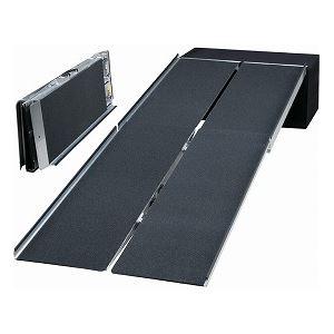 イーストアイポータブルスロープアルミ4折式タイプ(PVWシリーズ)/PVW240長さ244cm