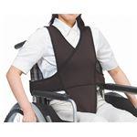 特殊衣料 車椅子ベルト /4010 L ブラック