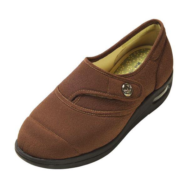 マリアンヌ製靴 彩彩~ちりめん~ W1100 婦人用 /22.0cm ブラウンf00